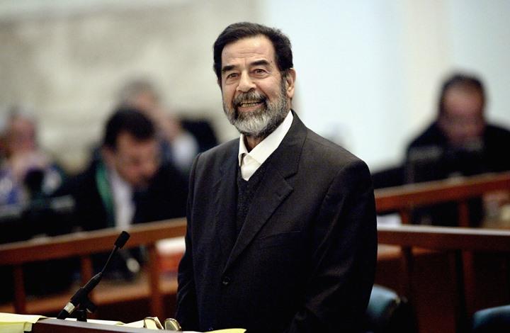 """بالفيديو  .. اعتقال شاعر عراقي امتدح الشهيد صدام حسين في بغداد  .. """"تفاصيل"""""""