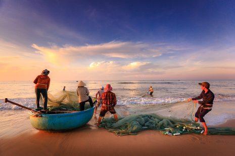 معنى حلم رؤية صيد سمك بالسنارة ورمي الشبكة والشباك في المنام