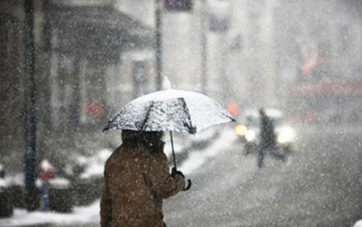 انخفاض حاد و ملموس على درجات الحرارة ..  و زخات مطرية و ثلجية على المرتفعات العالية