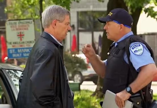 كاميرا خفية مع ضابط شرطة