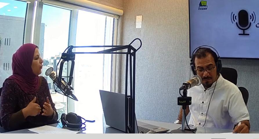 """بالفيديو ..  الزميلة القطاوي تتحدث عن الظلم الذي يتعرض له موظفو شراء الخدمات في """"الإذاعة والتلفزيون"""""""