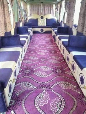 بالصور  ..  حافلة نقل عمومي تثير مواقع التواصل الاجتماعي  ..  و الأردنيون: اجمل من الباص السريع