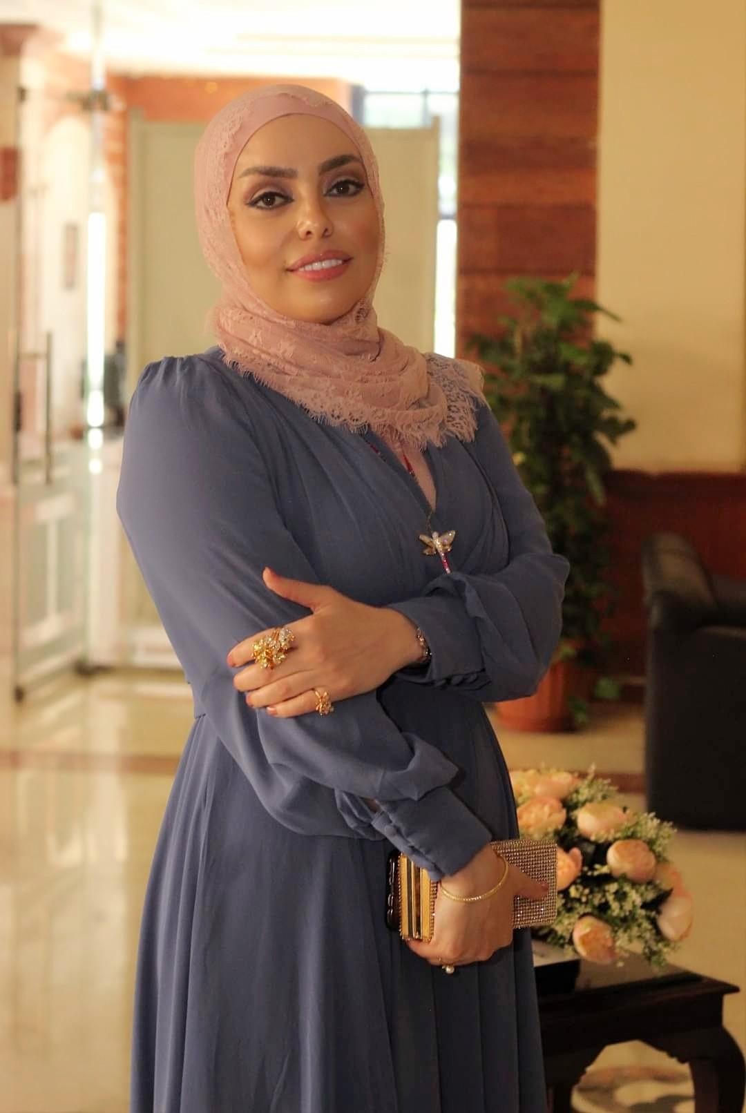 تكريم الدكتورة الاردنية مروة صلاح في هن الحكاية