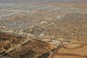 110 % نسبة السوريين إلى سكان منطقة الزعتري