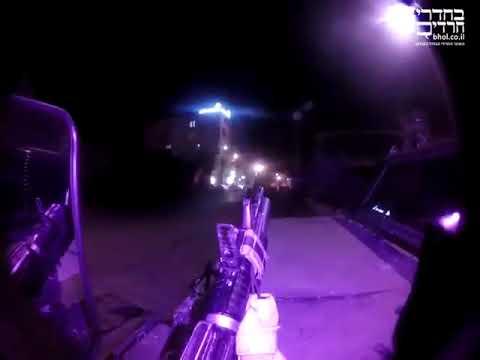 بالفيديو : شاهد لحظة هروب  جنود الإحتلال في جنين بعد اطلاق النار عليهم