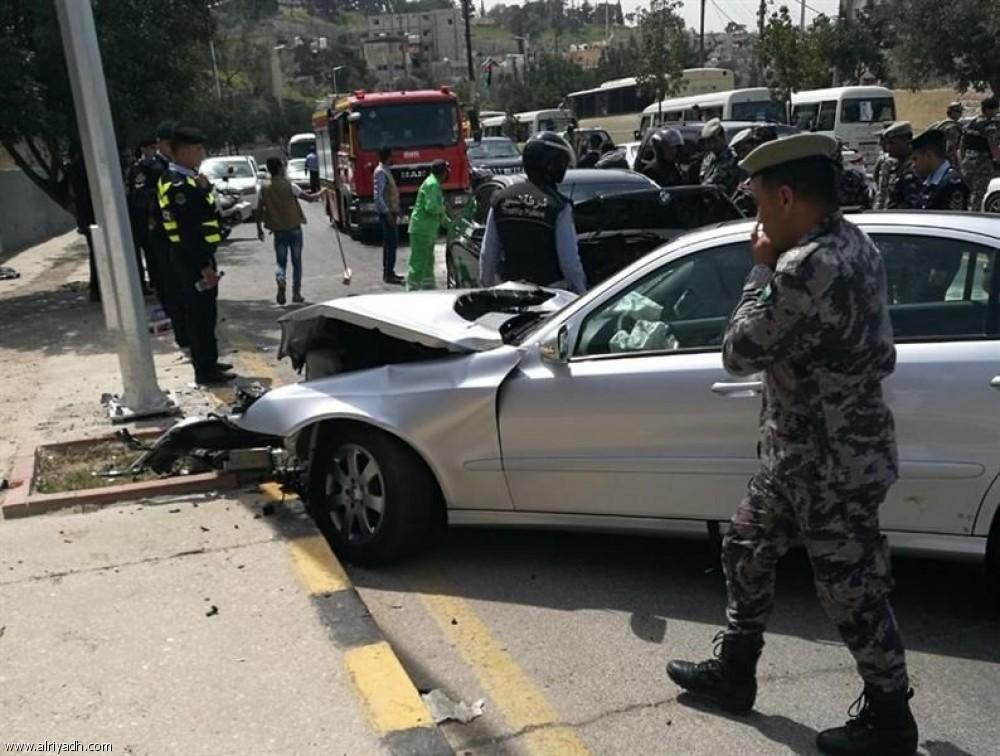 الزرقاء: إصابة 9 اشخاص بحادث مروري من بينهم طفل 3 سنوات بإصابة بليغة