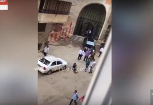 فيديو صادم لمقتل شاب تحرش بفتاة وحاول خطفها بمصر