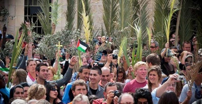 احتفالات في القدس بأحد الشعانين