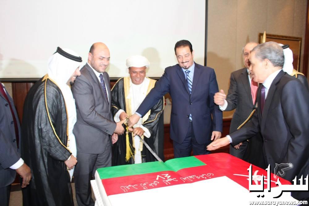 بالصور  ..  السفارة العُمانية في عمان تحتفل في عيدها الوطني 47