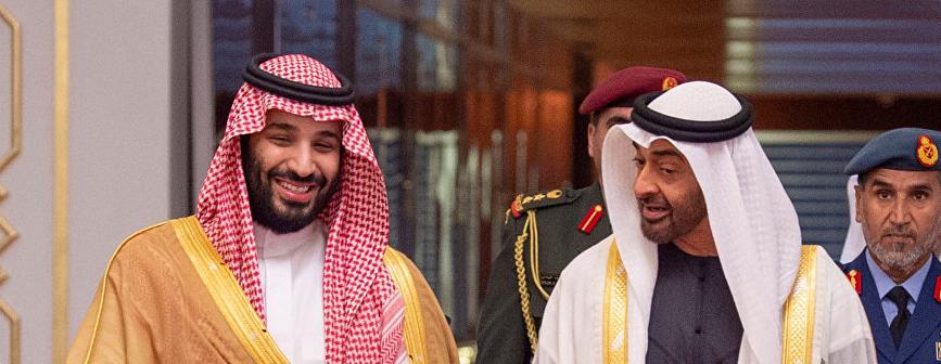 بالفيديو :ابن سلمان وابن زايد داخل مطعم في الرياض ..  هكذا رد ولي العهد السعودي على أحد المواطنين