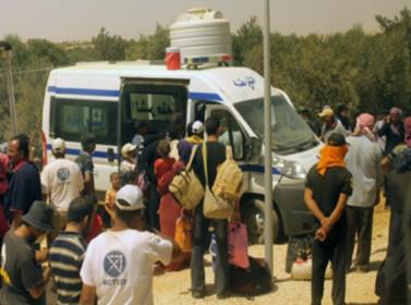 الزعتري: تحطيم مركبة لمكافحة المخدرات واختطاف لاجئة