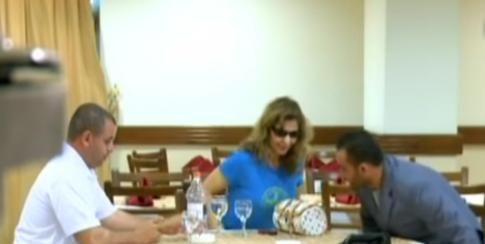 كاميرا خفية مع الفنانة نادرة عمران