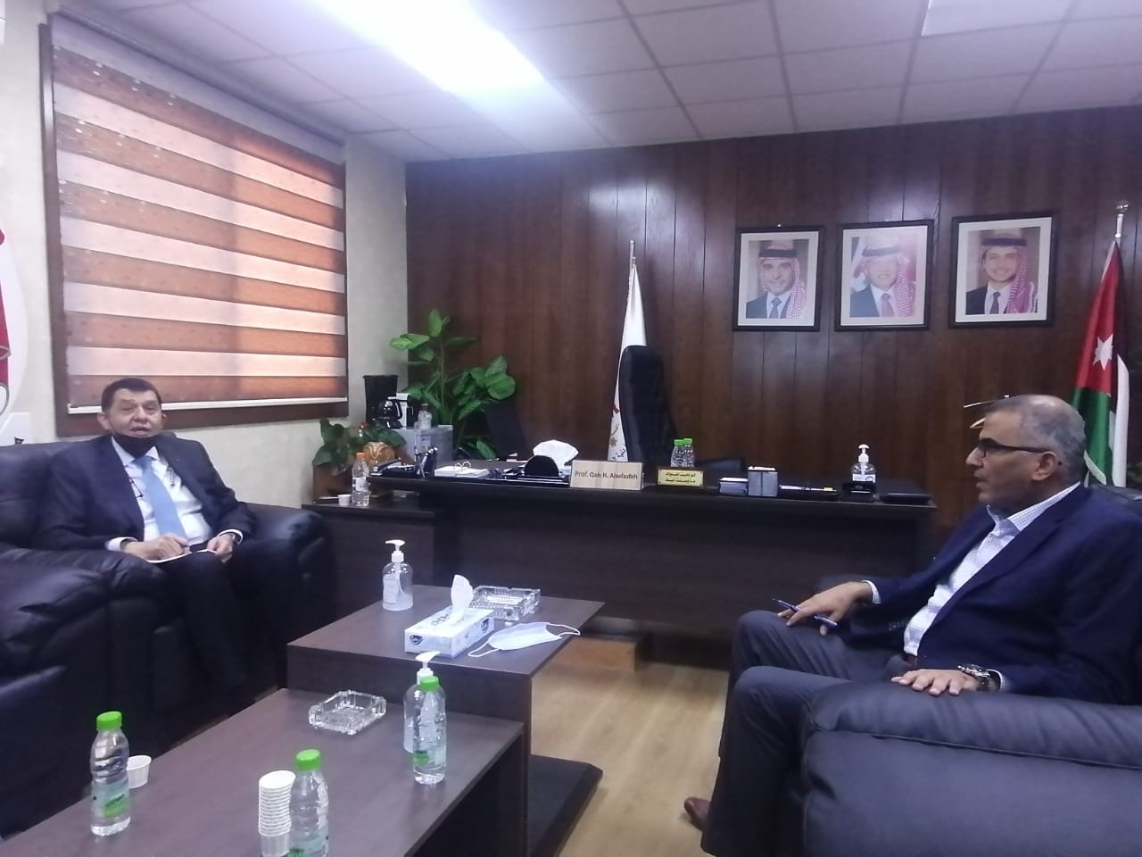 وزير العمل يزور هيئة تنمية وتطوير المهارات المهنية والتقنية