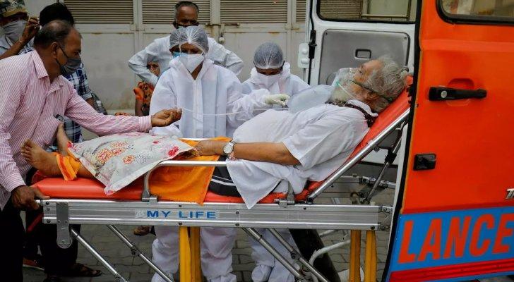 رقم قياسي جديد بإصابات كورونا في الهند