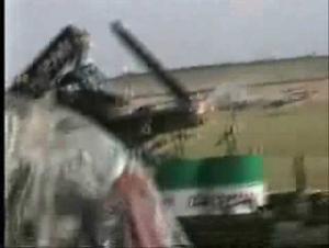 بالفيديو أعنف حوادث الطائرات