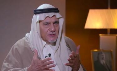 """بالفيديو  ..  رئيس الاستخبارات السعودية الأسبق يكشف رد فعل الملك فيصل تجاه شخص قال له """"أبشرك بهزيمة عبد الناصر"""""""