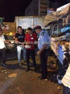 اربد: حملة أمنية على البسطات والباعه المتجولين و حجز 4 مركبات... صور
