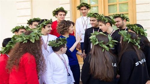 صور لأسماء الأسد في أول ظهور لها منذ أشهر