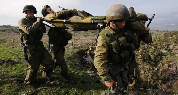 اصابة سبع جنود اسرائيليين في انفجار لغم قرب اريحا في غور الاردن