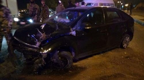 7 اصابات في حادث تصادم بالمفرق