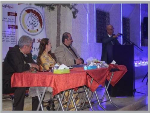 قصائد تتغنى بالأردن والقدس خلال أمسية للشاعرين حربي المصري وميساء البدارنة