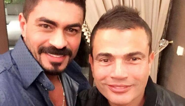 دينا الشربيني تتسبب في شجار بين عمرو دياب و خالد سليم