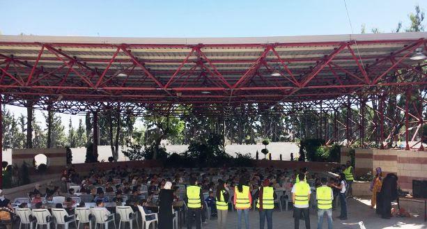 """يوم ترفيهي في جامعة عمان الأهلية لأطفال جمعيتي """"البراعم الإسلامية"""" و """"سيدات العطاء"""""""