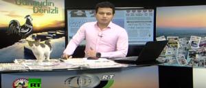 بالفيديو: قطة تقتحم استوديو للأخبار أثناء بث مباشر