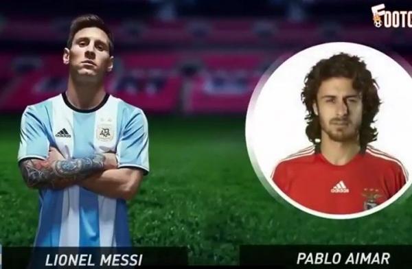 بالفيديو: تعرف على قدوة 60 لاعبا في كرة القدم