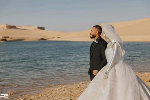 بالفيديو والصور  ..  مصري تركته خطيبته ..  فاستبدلها بشيء غير متوقع