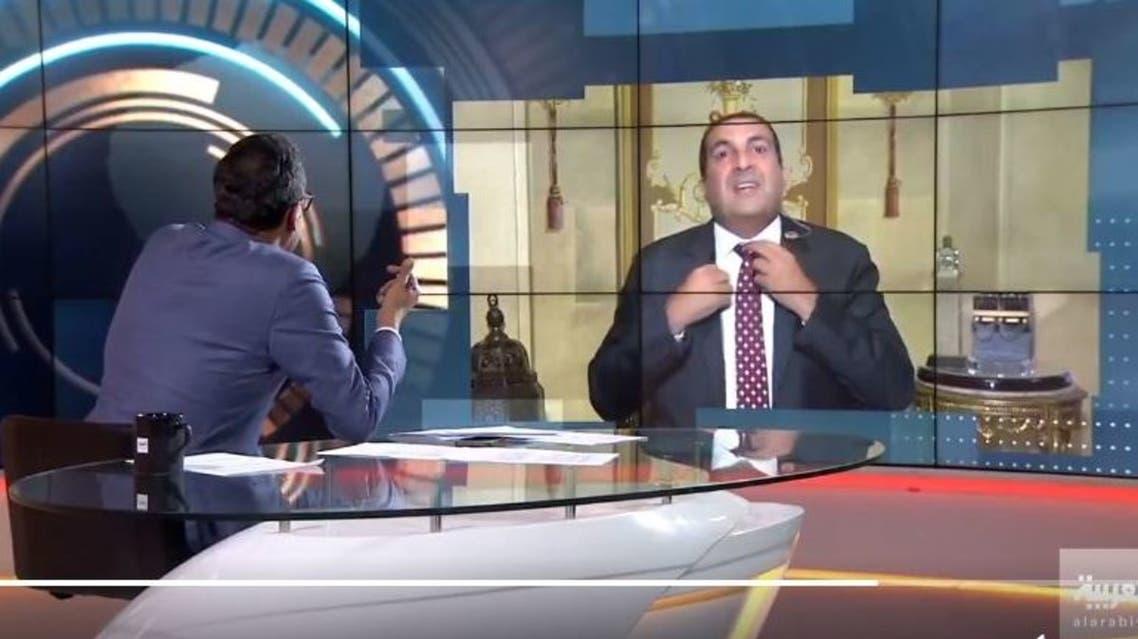 شاهد انسحاب عمرو خالد من أستوديو العربية بعد سؤال استفزه من المذيع