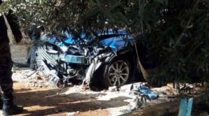 بالصور ..  عمان: بعد اقتحام مطعم ..  مركبة تقتحم شقة في شارع الاستقلال