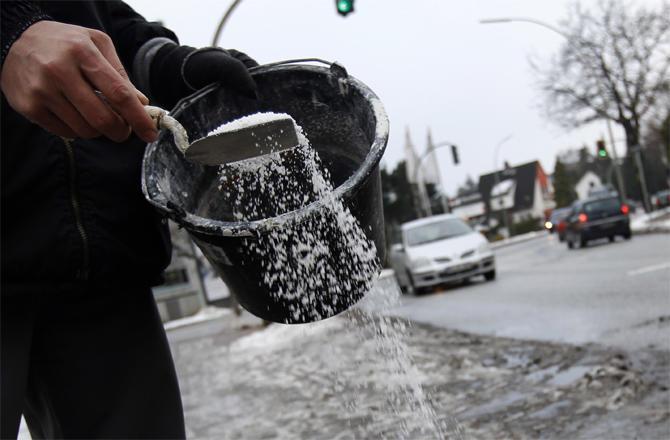 الأشغال: 750طن من الملح لاستخدامها بفصل الشتاء