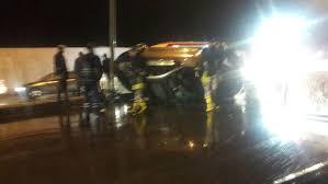 """وادي موسى: إصابة 4 طلاب وسائق مركبتهم بحادث تدهور ..  """"تفاصيل"""""""