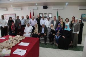 المولا يرعى إطلاق حملة نادي جامعة البترا الخيرية لشهر رمضان