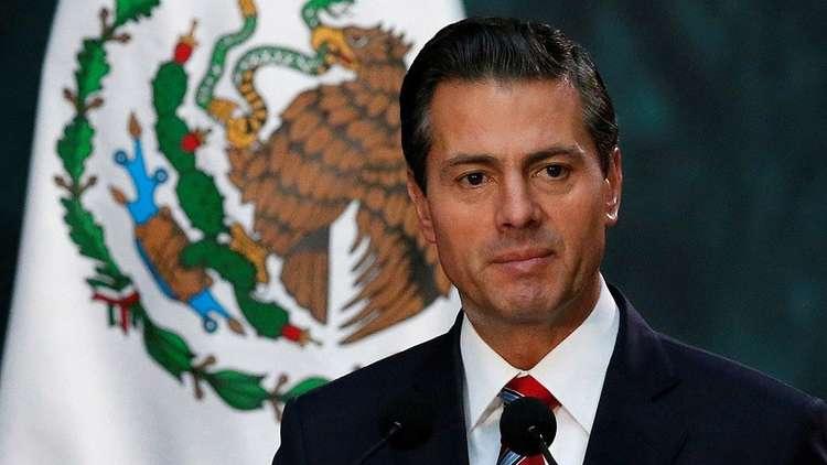 في حادث مريب ..  عيون الرئيس المكسيكي ووزرائه تتهيج بعد مشاركتهم بفعالية
