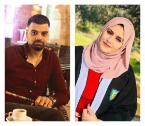 معاذ عبيدات لزوجته الغالية رامـا .. مبارك التخرج