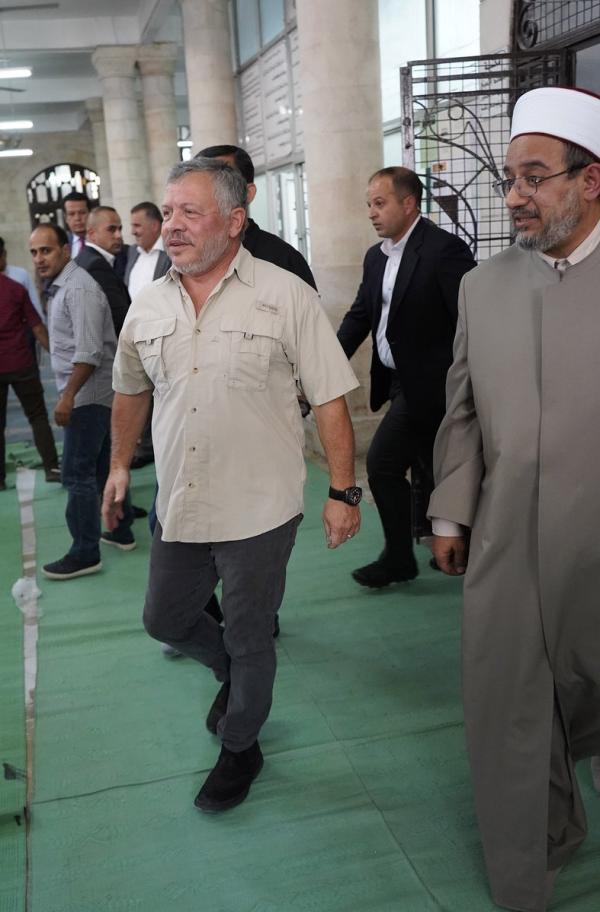 """ابو البصل: زيارة الملك للحسيني تجسد """"أردن النخوة"""""""