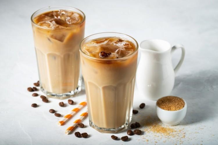 قهوة باردة بالحليب