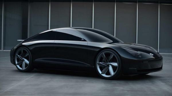 بالصور  ..  هيونداي تصدم جمهورها بسيارتها الكهربائية من الجيل الجديد
