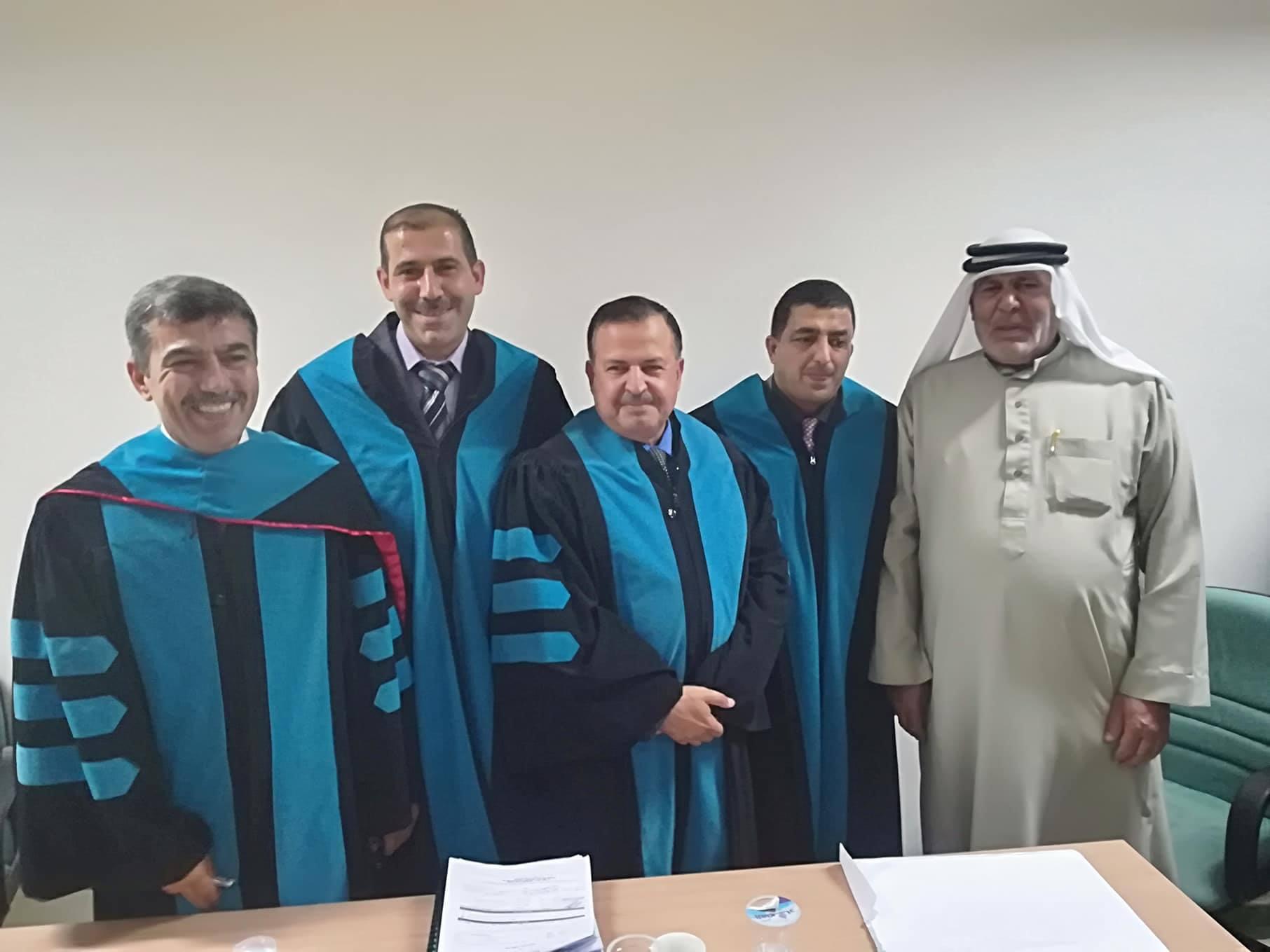 المهندس أحمد الجوارنة مبارك الماجستير