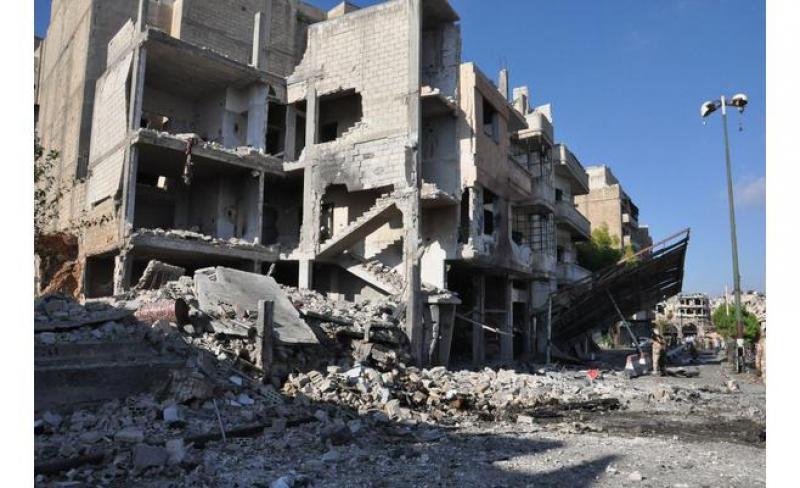 بالصور  ..  4 انفجارات ضخمة تهز مناطق سيطرة النظام السوري في طرطوس و ريف دمشق و حمص