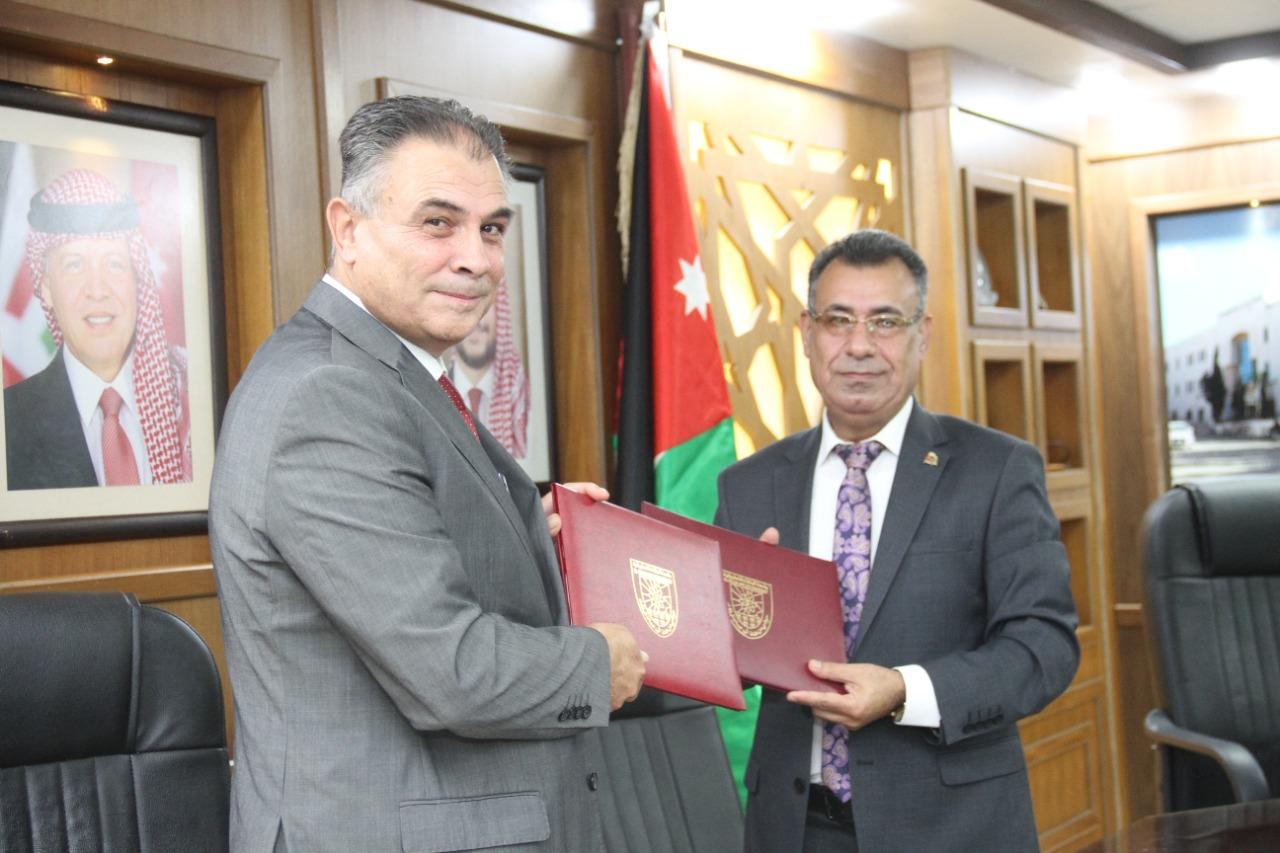 اتفاقية تعاون بين جامعة البلقاء التطبيقية و دائرة الإحصاءات العامة