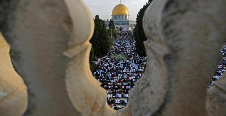 """دعوات لإغلاق المساجد في القدس وشد الرحال إلى """"الاقصى"""" أول أيام العيد"""