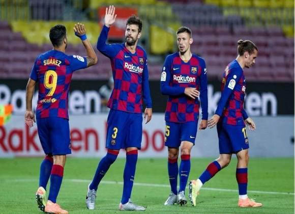 بيكيه ..  نحو تنفيذ رسالته إلى ريال مدريد ووعده إلى جمهور برشلونة