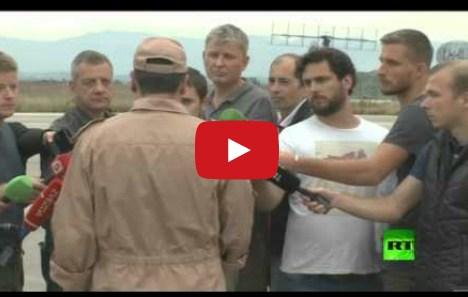 بالفيديو .. اول ظهور للطيار الروسي على شاشات التلفزيون .. ويروي لحظات مثيرة