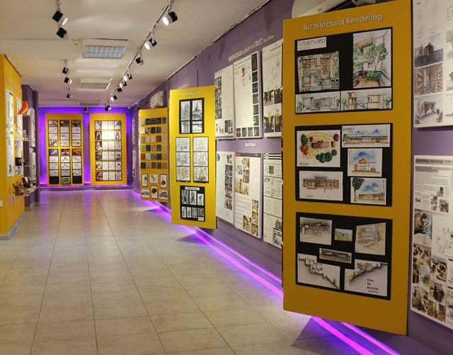 جامعة البترا تشارك في أسبوع عمان للتصميم 2019