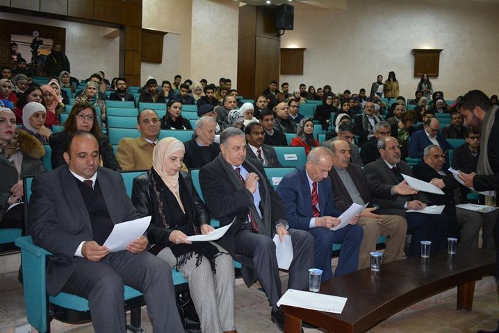 الملتقى البحثي الأول لجامعة كوينز- بلفاست - البريطانية مع الجامعات الاردنية في جامعة عمان الأهلية .. صور