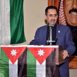 شكر وتقدير للسفير الاردني في الكويت صقر ابو شتال