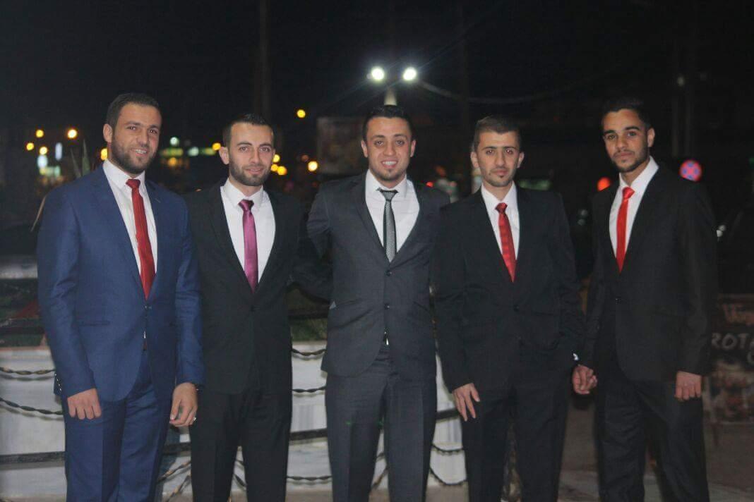 عمار العزام مبارك الزفاف